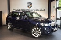 USED 2009 09 BMW X5 4.8 XDRIVE48I M SPORT 5DR AUTO 350 BHP + FULL BLUE LEATHER INTERIOR + FULL SERVICE HISTORY + PRO SATELLITE NAVIGATION + HEATED FRONT/REAR SPORT SEATS + BLUETOOTH + XENON LIGHTS + TV FUNCTION + DAB RADIO + CRUISE CONTROL + PARKING SENSORS + 20 INCH ALLOY WHEELS +