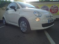 USED 2012 12 FIAT 500 1.2 POP 3d 69 BHP GUARANTEED TO BEAT ANY 'WE BUY ANY CAR' VALUATION ON YOUR PART EXCHANGE