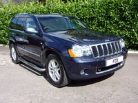 USED 2008 57 JEEP GRAND CHEROKEE 3.0 OVERLAND CRD V6 5d 215 BHP