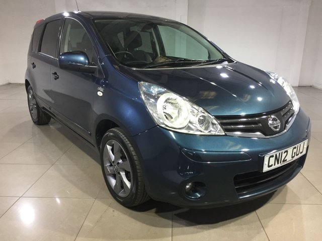 View our 2012 12 NISSAN NOTE 1.5 N-TEC PLUS DCI 5d 89 BHP