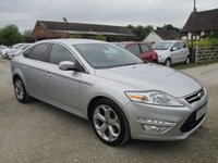 USED 2012 12 FORD MONDEO 2.0 TITANIUM X TDCI 5d AUTO 161 BHP VERY HIGH SPEC LEATHER AUTOMATIC DIESEL