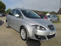 USED 2011 11 SEAT ALTEA XL 1.6 CR TDI ECOMOTIVE SE 5d 103 BHP ONLY 36000 MILES FSH ONLY 30 POUNDS TAX