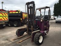 2017 MOFFETT ALL MODELS MOFFETT MOUNTY ROUGH TERRAIN FORKLIFT £POA