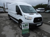 USED 2015 15 FORD TRANSIT 2.2 350 125 BHP LONG WHEEL BASE MED ROOF  SAME DAY VAN FINANCE OPEN 7 DAYS PX WELCOME