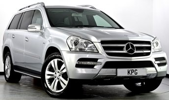2012 MERCEDES-BENZ GL CLASS 3.0 GL350 CDI BlueEFFICIENCY Sport 5dr Auto £24995.00