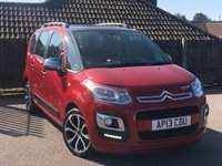 2013 CITROEN C3 PICASSO 1.6 PICASSO SELECTION HDI 5d 91 BHP £5495.00