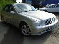 USED 2002 52 MERCEDES-BENZ C CLASS 2.1 C220 CDI AVANTGARDE 4d AUTO 143 BHP GOOD HISTORY+HIGH SPEC DIESEL