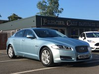 USED 2012 62 JAGUAR XF 3.0 V6 LUXURY 4d AUTO 240 BHP