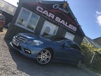 2010 MERCEDES-BENZ E CLASS 3.0 E350 CDI BLUEEFFICIENCY SPORT 2d AUTO 231 BHP £9495.00