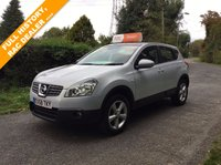 USED 2008 58 NISSAN QASHQAI 1.6 ACENTA 5d 113 BHP A NICE EXAMPLE , MUST BE SEEN !!!