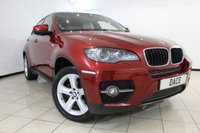 USED 2010 60 BMW X6 3.0 XDRIVE30D 4DR AUTOMATIC 241 BHP BMW SERVICE HISTORY + FRONT AND REAR HEATED LEATHER SEATS + SAT NAVIGATION PROFESSIONAL + TOP VIEW CAMERA + PARKING SENSOR + BLUETOOTH + CRUISE CONTROL + MULTI FUNCTION WHEEL + 19 INCH ALLOY WHEELS