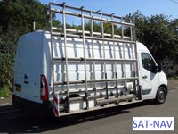 2013 RENAULT MASTER LM35 2.3 DCI 125 BHP L3 LWB HIGH ROOF PANEL VAN/GLASS CARRIER/THRAIL £10995.00