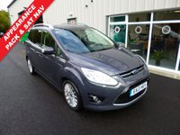 USED 2013 13 FORD GRAND C-MAX 1.6 TDCI TITANIUM 115 BHP THIS VEHICLE IS AT SITE 1 - TO VIEW CALL US ON 01903 892224