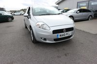 USED 2010 10 FIAT GRANDE PUNTO 1.4 SOUND 5d 77 BHP LOW DEPOSIT OR NO DEPOSIT FINANCE AVAILABLE.
