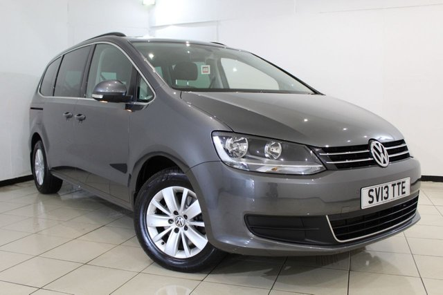 View our 2013 13 VOLKSWAGEN SHARAN 2.0 SE TDI DSG 5DR AUTOMATIC 142 BHP
