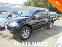 USED 2014 63 MITSUBISHI L200 2.5 DI-D 4X4 WARRIOR LWB Double Cab *ONLY 18,000 MILES*FULLY LOADED*