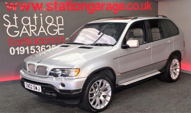 2002 02 BMW X5 4.4 SPORT 5d AUTO 282 BHP SUNROOF 20
