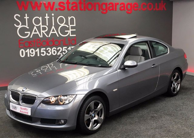 2007 57 BMW 3 SERIES 3.0 325D SE COUPE AUTO, LEATHER, SUNROOF