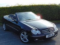 USED 2007 MERCEDES-BENZ CLK 3.0 CLK280 AVANTGARDE 2d CONVERTIBLE * FULL LEATHER INTERIOR * PRIVATE PLATE INCLUDED *