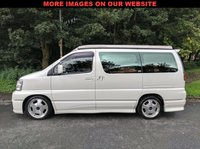 USED 2001 51 NISSAN ELGRAND E50 3.5 V6 Petrol Auto Same as the 350z 4WD MUST BE SEEN TO BE APPRECIATED. NEW POP TOP ROOF FITTED!