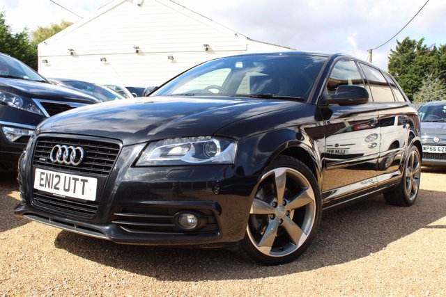 View our 2012 12 AUDI A3 2.0 SPORTBACK TFSI QUATTRO S LINE SPECIAL EDITION 5d AUTO 197 BHP