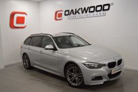 USED 2014 64 BMW 3 SERIES 2.0 320D XDRIVE M SPORT TOURING 5d AUTO 181 BHP SAT NAV AND PADDLE SHIFT GEARS