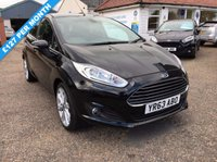 USED 2013 63 FORD FIESTA 1.5 TITANIUM TDCI 5d 74 BHP ** NOW SOLD ** NOW SOLD **