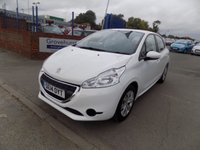 USED 2014 14 PEUGEOT 208 1.4 ACCESS PLUS HDI 5d 68 BHP