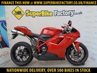 USED 2011 11 DUCATI 848 EVO GOOD&BAD CREDIT ACCEPTED, OVER 500+ BIKES