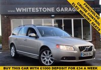 USED 2010 59 VOLVO V70 2.0 D SE 5d 136 BHP FSH@VOLVO, ELECTRIC MEMORY SEATS, FRONT AND REAR PARKING SENSORS, CRUISE CONTROL.