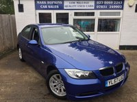 USED 2008 57 BMW 3 SERIES 2.0 320D SE 4d AUTO 161 BHP 36838 MILES FSH  DEMO + ONE OWNER  EXCELLENT CONDITION THROUGHOUT