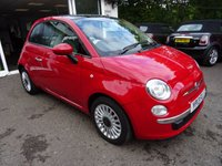 USED 2013 13 FIAT 500 1.2 LOUNGE 3d 69 BHP Low Mileage, Service History + Just Serviced by ourselves, NEW MOT (minimum 10 months), One Lady Owner from new, Great on fuel! Only £30 Road Tax!