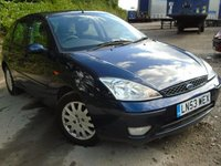 USED 2003 53 FORD FOCUS 1.6 GHIA 5d 99 BHP NEW MOT ON SALE+CHEAP TO RUN