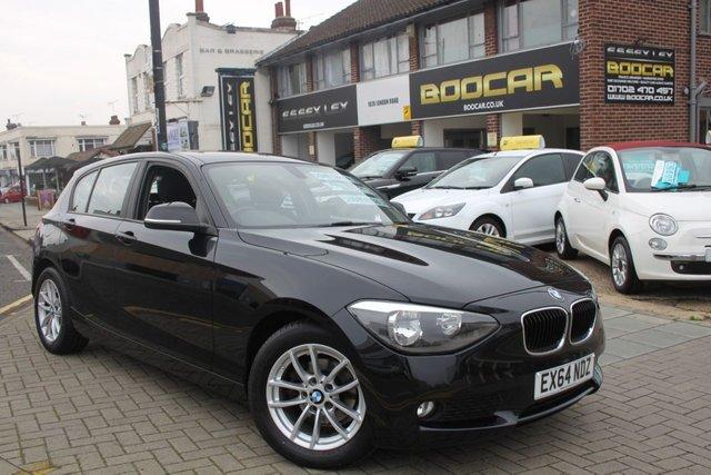 2014 64 BMW 1 SERIES 1.6 116D EFFICIENTDYNAMICS 5d 114 BHP