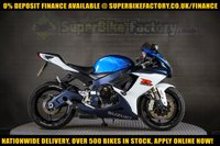USED 2012 62 SUZUKI GSXR750  750cc 0% DEPOSIT FINANCE AVAILABLE GOOD & BAD CREDIT ACCEPTED, OVER 500+ BIKES IN STOCK