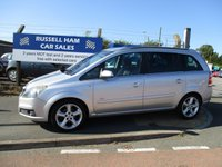 USED 2006 06 VAUXHALL ZAFIRA 1.8 SRI 16V 5d 140 BHP Fantastic Family Vehicle