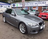 2013 BMW 3 SERIES 2.0 320I M SPORT 2d 168 BHP £12750.00