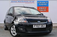 USED 2007 07 FORD FIESTA 1.2 ZETEC CLIMATE 16V 3d 78 BHP COMPREHENSIVE SERVICE HISTORY