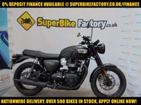 USED 2017 17 TRIUMPH BONNEVILLE 900 GOOD & BAD CREDIT ACCEPTED, OVER 500+ BIKES IN STOCK