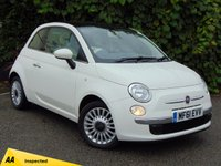 USED 2011 61 FIAT 500 1.2 LOUNGE 3d  * 128 POINT AA INSPECTED *