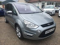 USED 2012 62 FORD S-MAX 2.0 TITANIUM TDCI 5d 138 BHP ** NOW SOLD ** NOW SOLD **
