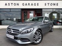 USED 2015 15 MERCEDES-BENZ C CLASS 2.0 C200 SPORT 4d AUTO 184 BHP * SAT NAV * CAMERA * F/S/H * 1 OWNER **