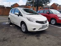USED 2015 64 NISSAN NOTE 1.2 ACENTA PREMIUM 5d 80 BHP EXCELLENT FUEL ECONOMY!!..LOW CO2 EMISSIONS(109G/KM)..£20 ROAD TAX..FULL NISSAN SERVICE HISTORY..ONLY 17757 MILES FROM NEW!!..WITH SATELLITE NAVIGATION, ALLOY WHEELS, MEDIA AND CLIMATE CONTROL