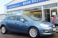 USED 2014 64 VAUXHALL ASTRA 1.6 ELITE 5dr (113 bhp) ......(Genuine 4,000mls.only. One owner. Full Vauxhall service history)