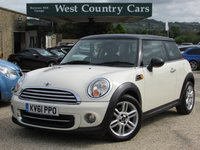 USED 2011 61 MINI HATCH COOPER 1.6 COOPER 3d AUTO 122 BHP Excellent Condition Throughout