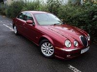 2003 JAGUAR S-TYPE 2.5 V6 SE 4d AUTO 201 BHP £2988.00