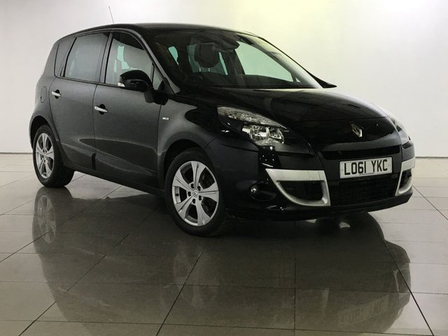 View our 2012 61 RENAULT SCENIC 1.6 DYNAMIQUE TOMTOM BOSE ENERGY DCI S/S 5d 130 BHP