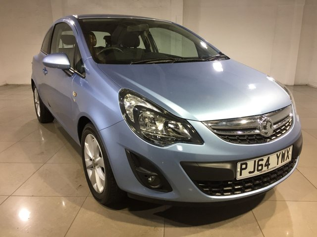 View our 2014 64 VAUXHALL CORSA 1.2 EXCITE AC 3d 83 BHP