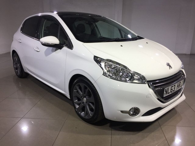 View our 2013 63 PEUGEOT 208 1.6 E-HDI FELINE NAVIGATION VERSION 5d 115 BHP