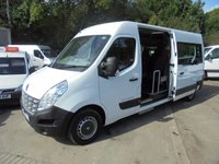 USED 2012 62 RENAULT MASTER **17 SEAT AUTOMATIC**NHS OWNED FROM NEW**RARE*